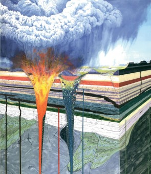 Geology-illustrated---kimberlite-dyke