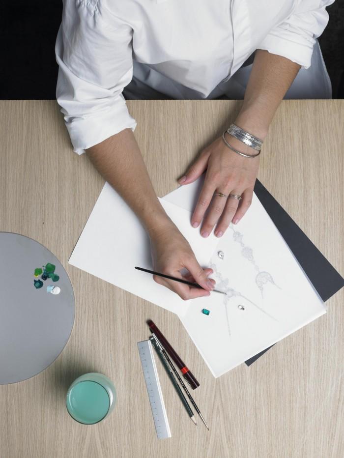 Artisan-Jeweler-Drawing-your-bespoke-jewellery-design