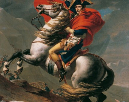 Napoleon_at_the_Great_St._Bernard_-_Jacques-Louis_David_Crossing-the-Alps
