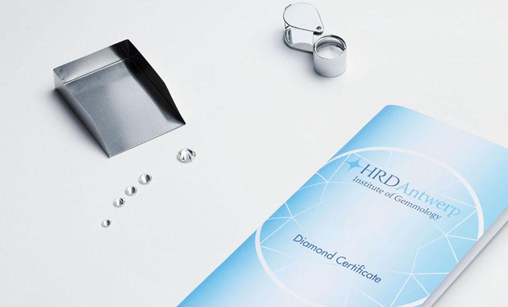 Diamond Certification Galeries Du Diamant