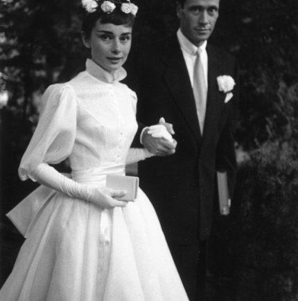 Audrey Hepburn Engagement