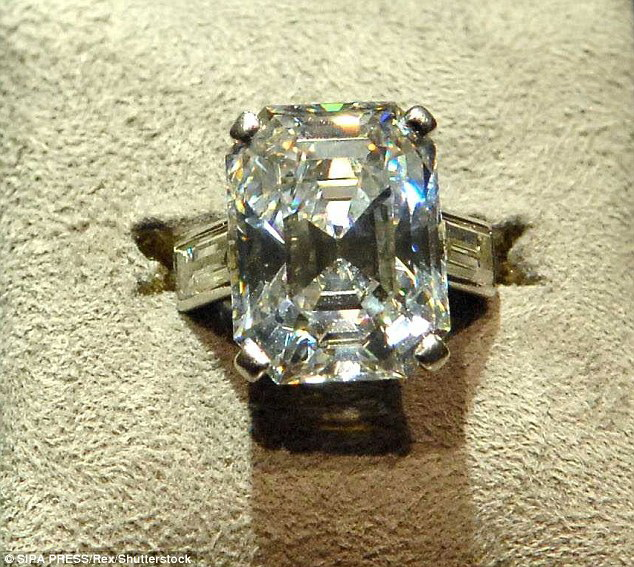 Grace Kelly's Diamond Ring