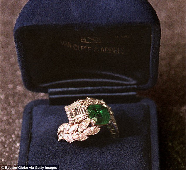 Jackie O's Emerald Ring