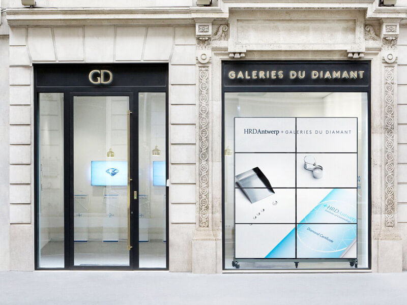 Galeries du Diamant flagship store in Paris