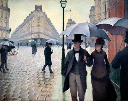 Rue de Paris, temps de pluie Gustave Caillebotte, 1877